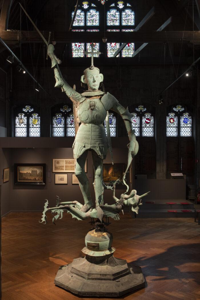 M.Van Rode, De windwijzer van het stadhuis, 1455 ©E.Gomez