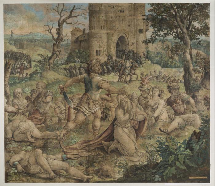P.Coecke, Le Martyre de saint Paul ou Décollation de saint Paul, 1530 © KIK-IRPA