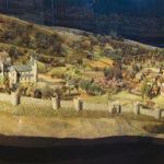 C.Louis, Maquette de Bruxelles au 13e siècle, 2001©J.J Rousseau