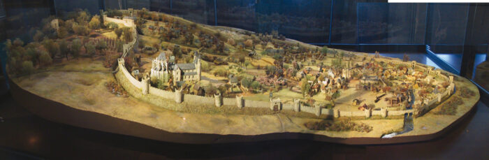 Model of the 13th _Brussels City Museum © JJ Rousseau-2003