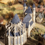 C.Louis, Schaalmodel van Brussel in de 13e eeuw, 2001©J.J Rousseau