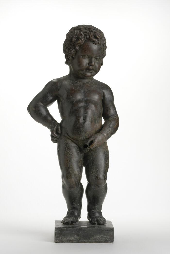 J. Duquesnoy, Statuette originale de Manneken-Pis, 1619