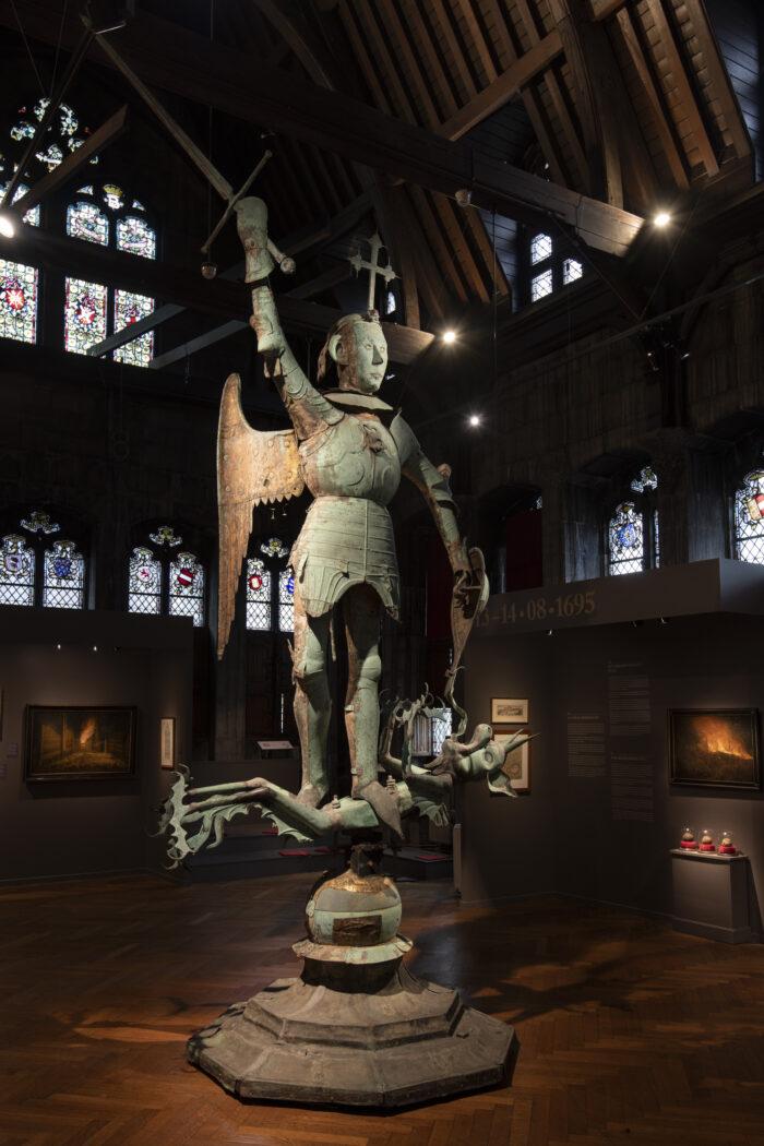 M.Van Rode, La Girouette de l'Hôtel de Ville, 1455 ©E.Gomez