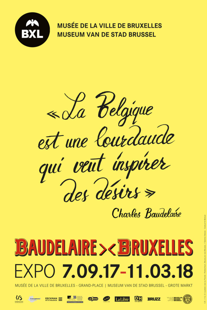 Affiche Baudelaire