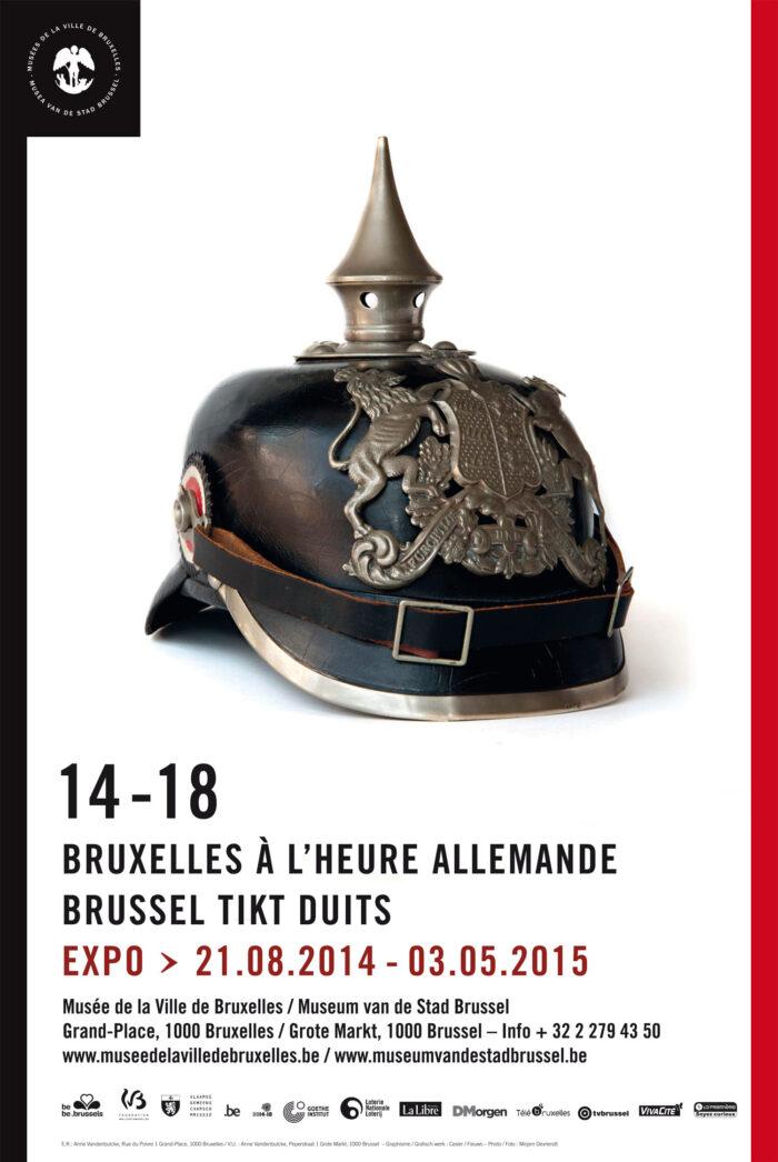 Affiche Bruxelles à l'heure allemande