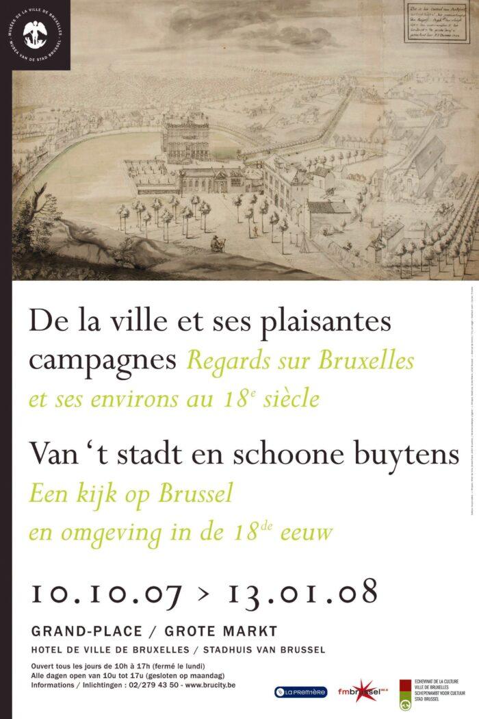 Affiche De la Ville et ses plaisantes campagnes