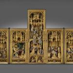 J.Boreman, La Vie de la Vierge, partie sculptée du Retable de Saluces, 1500 -1510 © Y.Peeters et A.Dohet