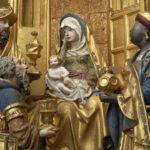 J.Boreman, La Vie de la Vierge, partie sculptée du Retable de Saluces, 1500-1510 © Y.Peeters et A.Dohet