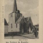 Carte postale représentant l'église Sainte-Élisabeth, avant 1900 © Archives de la Ville de Bruxelles