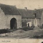 Carte postale figurant la ferme du Castrum © Archives de la Ville de Bruxelles