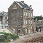 Gare de Haren-Sud, années 1970 © Collection privée (W. Hendrickx)