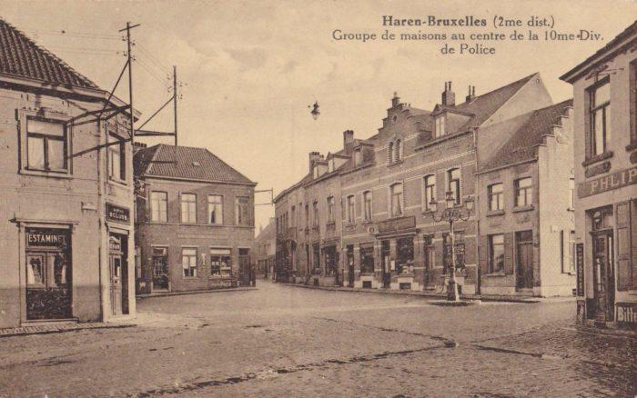 Place du village de Haren, 20e siècle © Collection privée