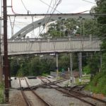Actuelle rue Harenheyde passant au-dessus des voies ferrées © Collection privée (GC De Linde)