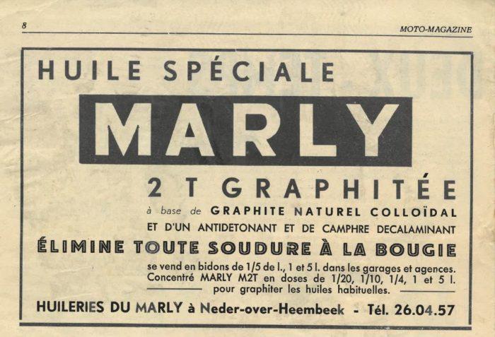 Publicité pour les Huileries du Marly © Collection privée
