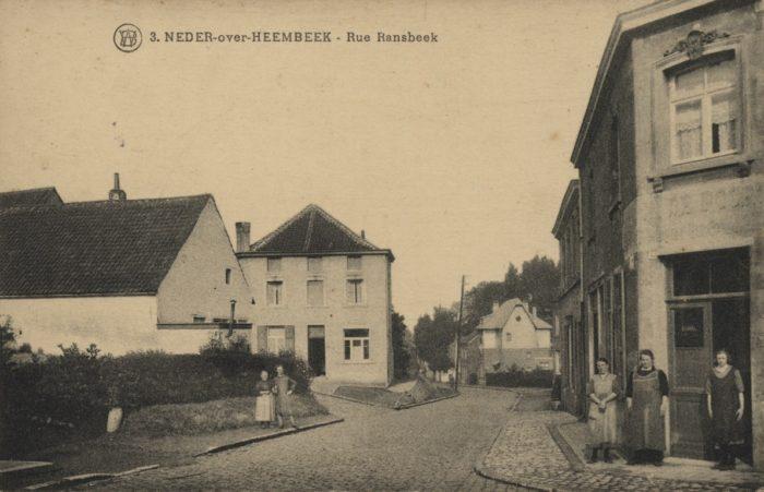 Rue de Ransbeek, 1920-1925 © Archives de la Ville de Bruxelles, Collection iconographique W-5554