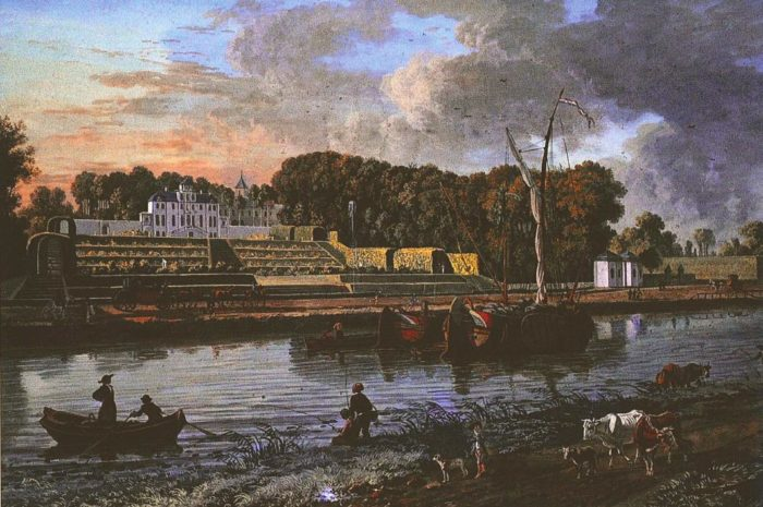 O. Le May, Château de Meudon à Neder-Heembeek, 1783 © Urban.Brussels